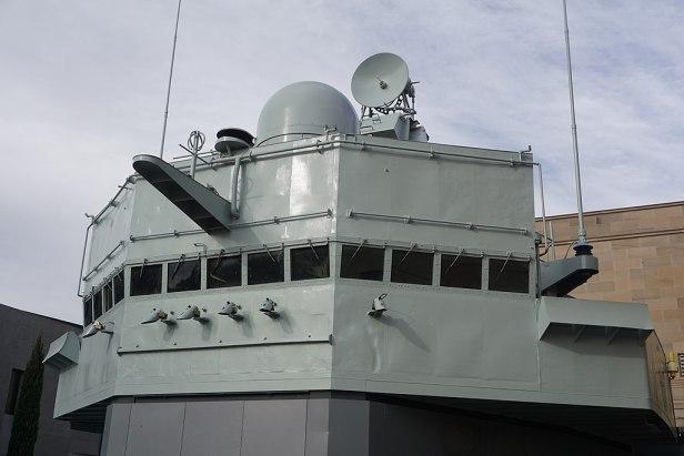 Australian War Memorial - Joy of Museums - HMAS Brisbane (D 41) - Bridge 2