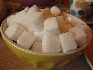 English: Sugar cubes. Español: Terrones de azúcar.