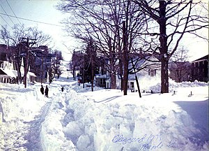The Great blizzard of 1978. Taken on Maple Str...