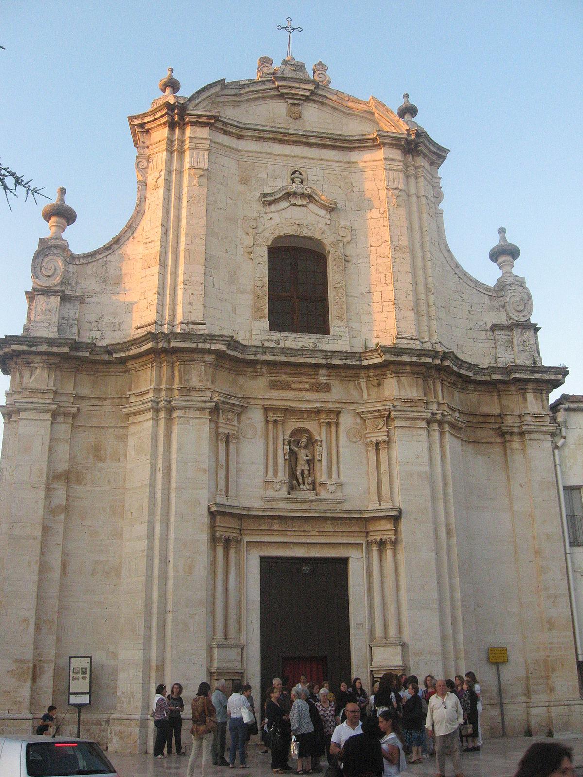 Chiesa di San Michele Arcangelo Ruvo di Puglia  Wikipedia