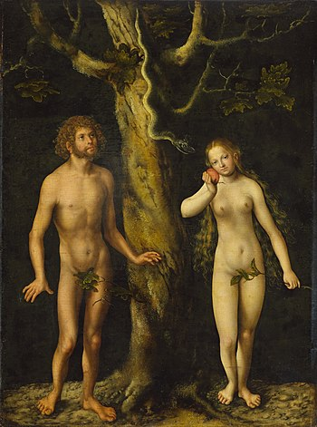 Adam and Eve.