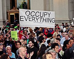 Day 14 Occupy Wall Street September 30 2011 Shankbone 49.JPG