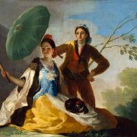 El quitasol, Francisco de Goya
