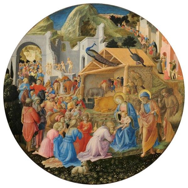 Fra Lippi the Adoration of Magi