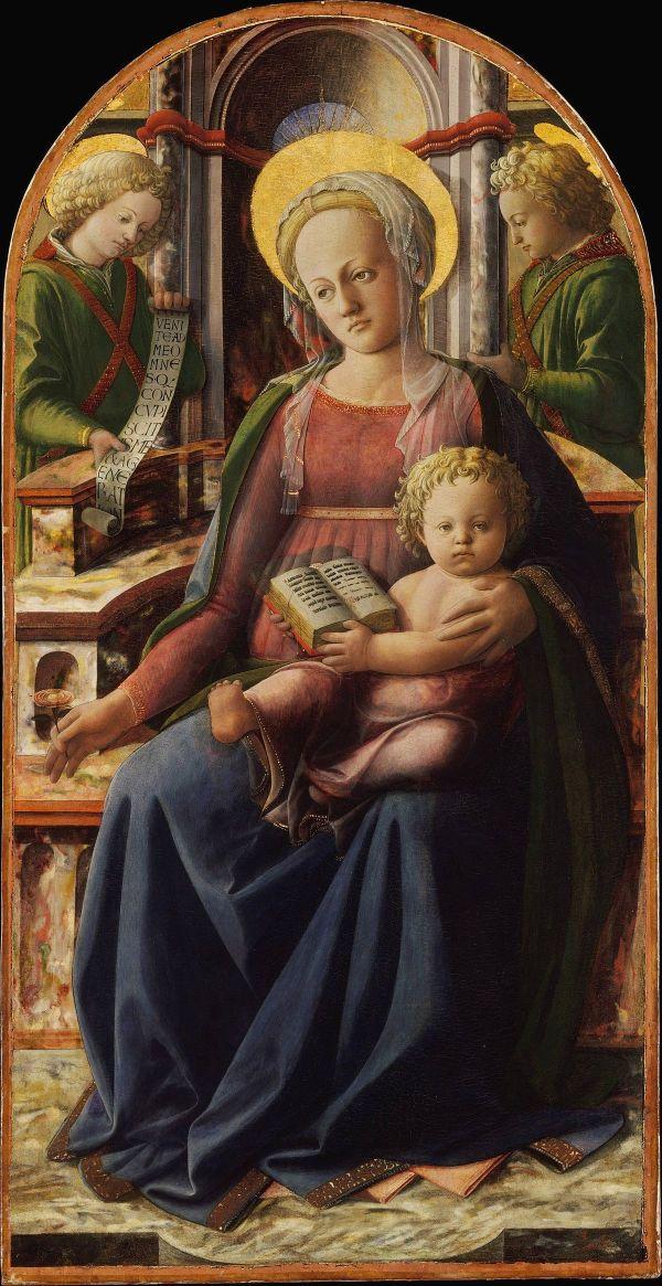 Fra Filippo Lippi Madonna and Child