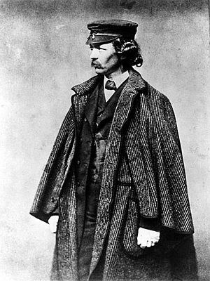 Frederick law olmstead 1857