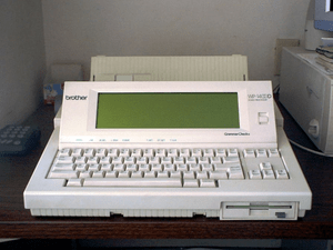 Image of a now obsolete hardware type word pro...