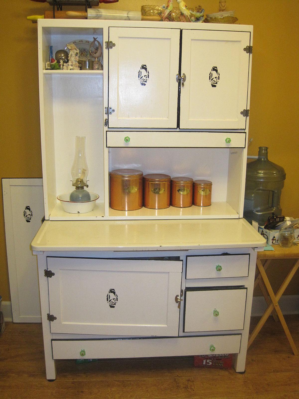 used kitchen cabinets indiana ninja mega complete system 1500 blender & food processor hoosier cabinet wikipedia