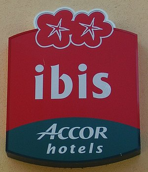 Hotel Ibis , Emblem, in Deutschland