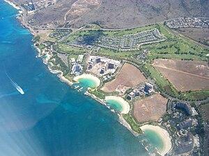 English: Aerial Photo of Ko Olina on Oahu, Hawaii