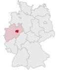 Localização de Soest na Alemanha