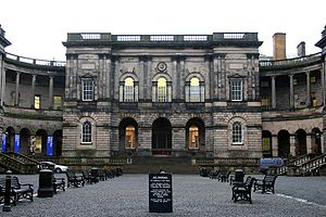 The Old College at The University of Edinburgh...