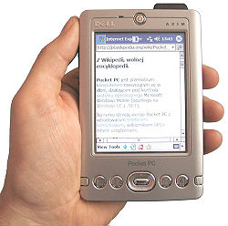 Computador de bolsillo o Pocket PC - Dell Axim