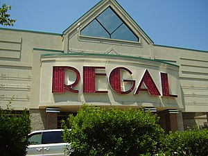 English: A Regal Entertainment theater in Penn...