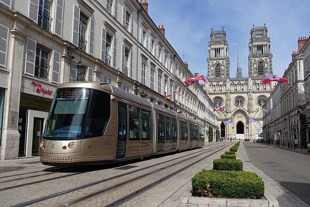 Rue Jeanne dArc Tramway Orleans