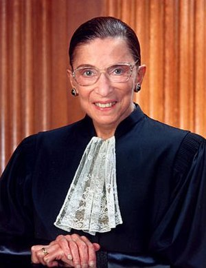 Ruth Bader Ginsburg official portrait