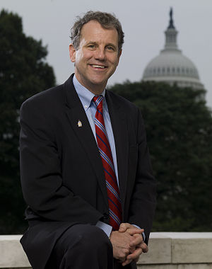 English: Official photo of Senator Sherrod Bro...