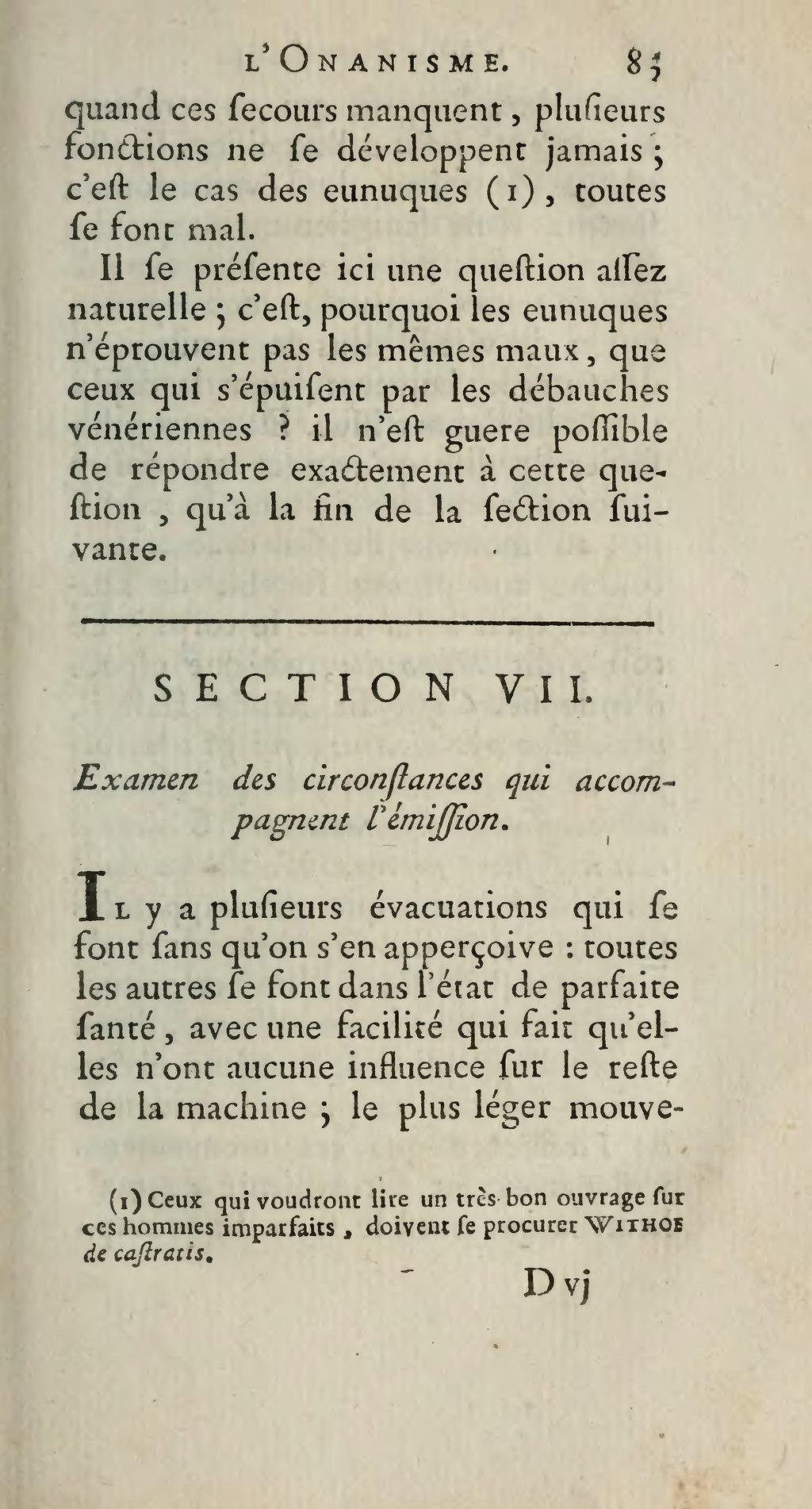 Qu Est Ce Que L Onanisme : onanisme, Page:Tissot, Onanisme, Dissertation, Maladies, Produites, Masturbation,, Edition,, Lausanne,, 1769.djvu/105, Wikisource