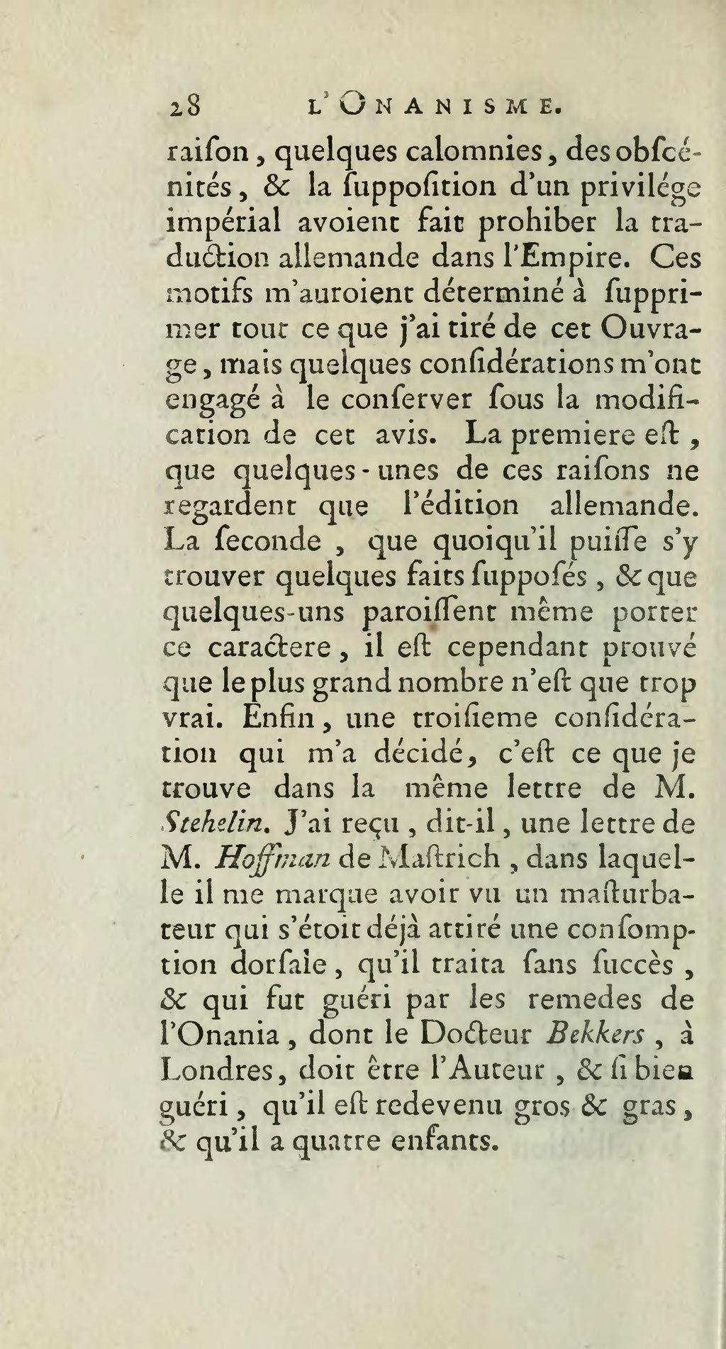 Qu Est Ce Que L Onanisme : onanisme, Page:Tissot, Onanisme, Dissertation, Maladies, Produites, Masturbation,, Edition,, Lausanne,, 1769.djvu/50, Wikisource