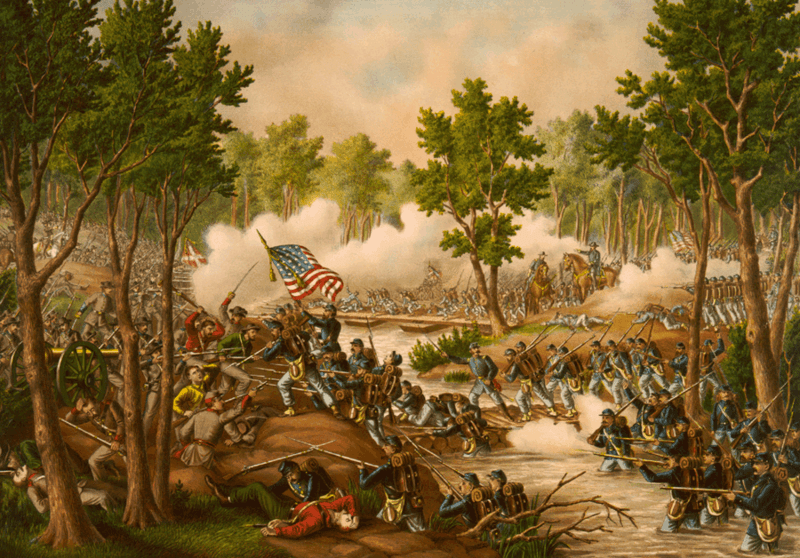 Battle of Spottsylvania--Engagements at Laurel Hill & NY River, Va. ... May 8 to 18, 1864.