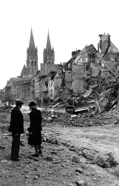 Saint Etienne amidst the rubble
