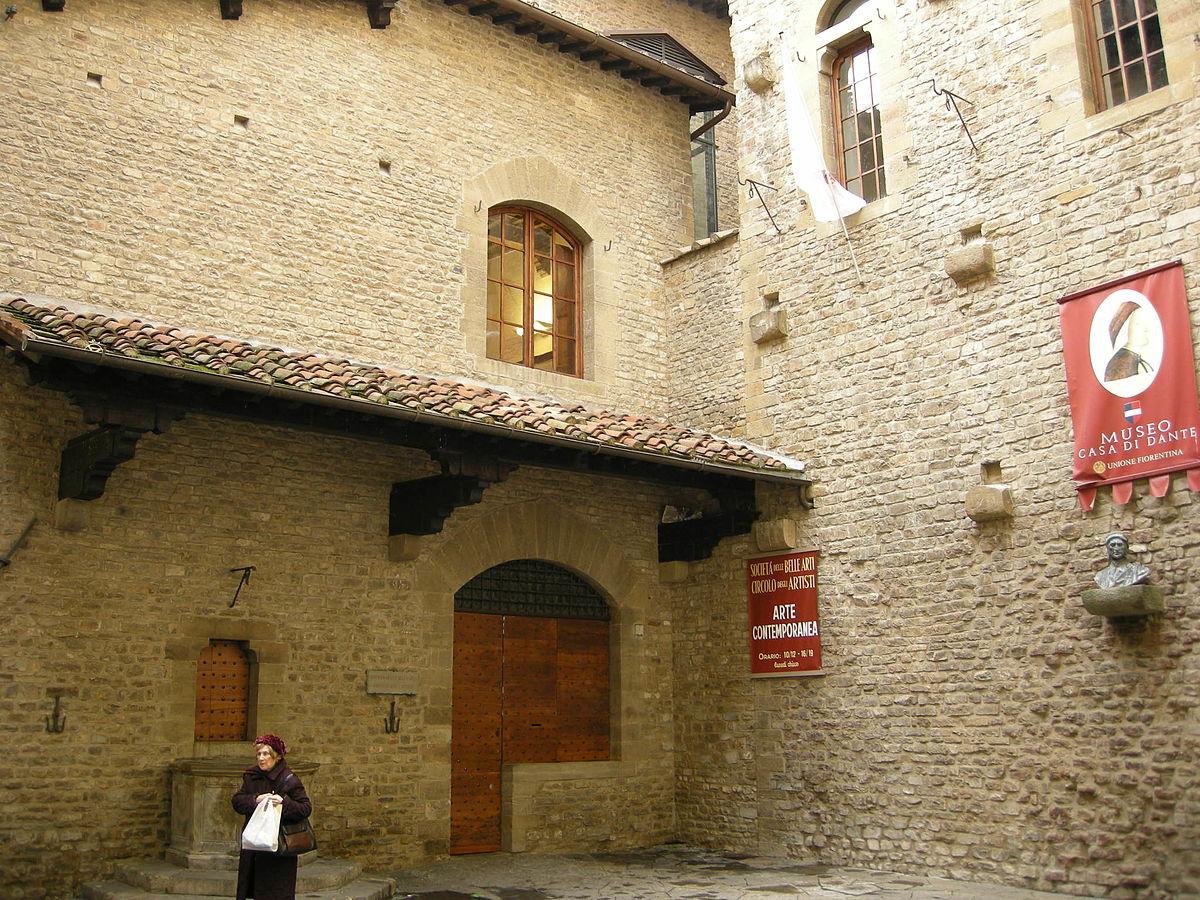 Museo Casa di Dante  Wikipedia la enciclopedia libre