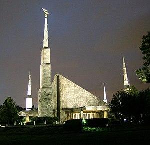 English: The Dallas Texas Temple of .