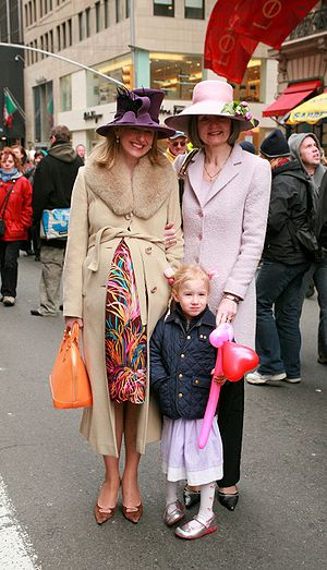 Participants in New York City's Easter Parade