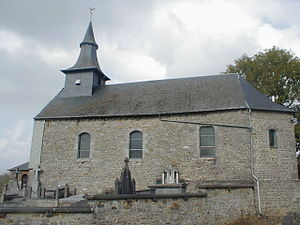 church of Corbion near Leignon Walon: eglijhe ...