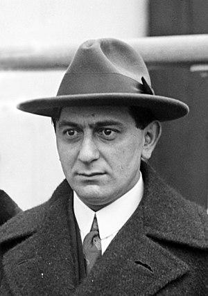 German film director Ernst Lubitsch (1892–1947...
