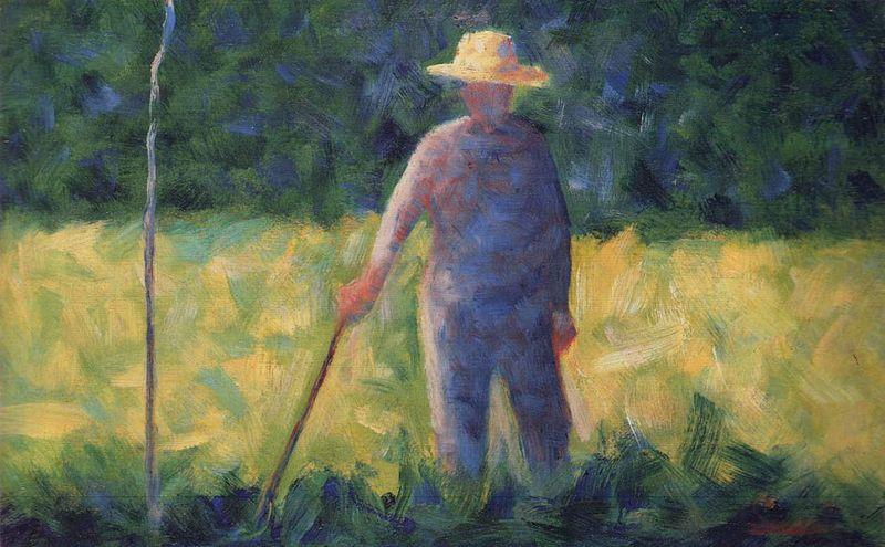 File:Georges Seurat - Le jardinier.jpg