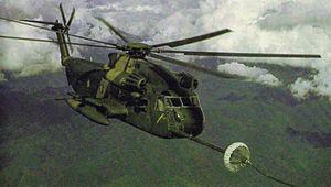 A U.S. Air Force Sikorsky HH-53C Super Jolly G...