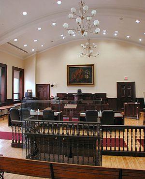 Historic courtroom still in use in Brockville,...