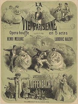 Jacques Offenbach La Vie Parisienne : jacques, offenbach, parisienne, Parisienne, (operetta), Wikipedia
