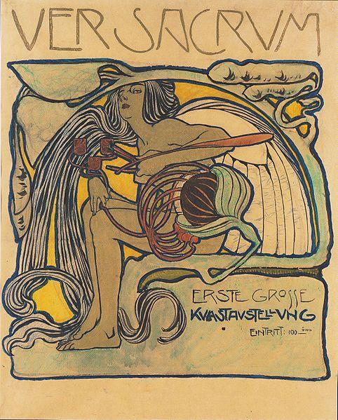 File:Kolo Moser - Plakatentwurf - 1897.jpeg