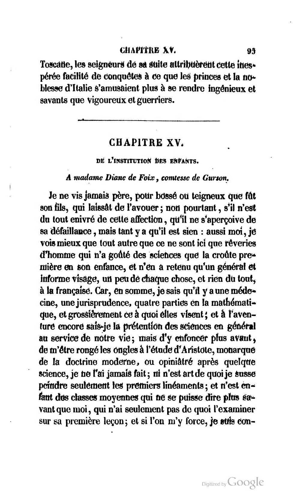 De L Institution Des Enfants : institution, enfants, Page:Montaigne, Essais,, Musart,, 1847.djvu/101, Wikisource