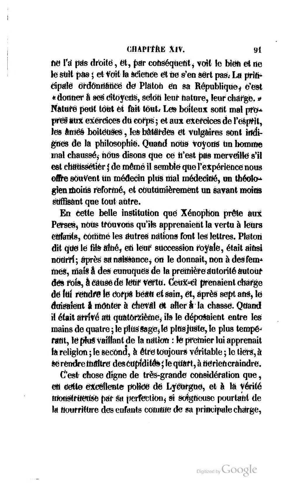 Au Sujet D'un Enfant Monstrueux : sujet, enfant, monstrueux, Page:Montaigne, Essais,, Musart,, 1847.djvu/97, Wikisource