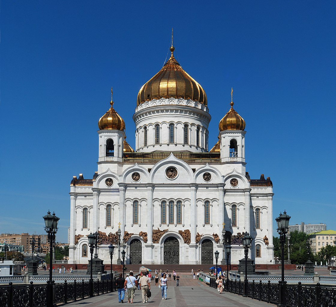 Christ Our Savior Cathedral, Moscow