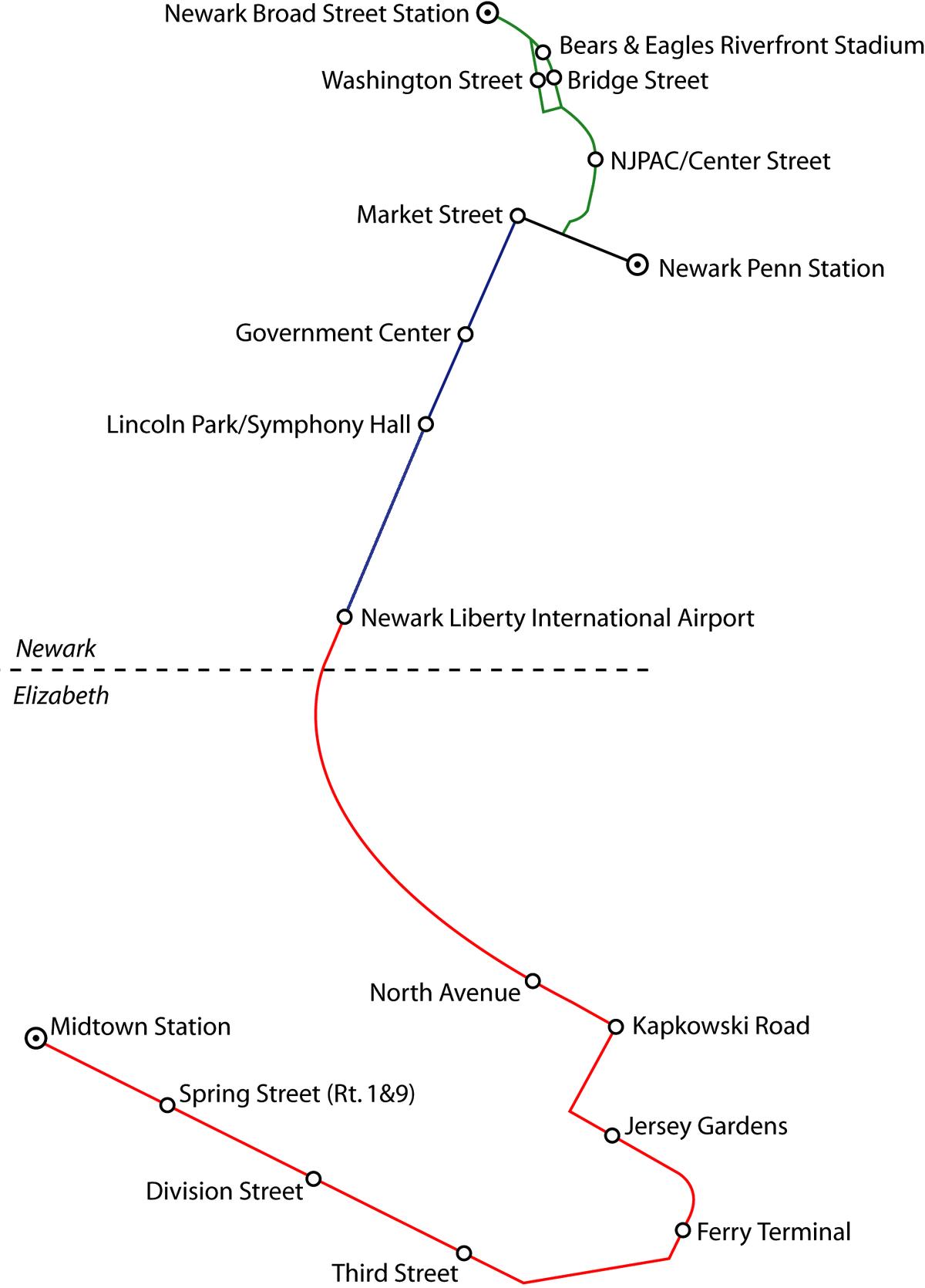 hight resolution of center link diagram