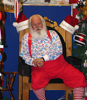 The Santa Claus of North Pole, Alaska