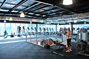 Spacious Gym Floor Category:Gyms_and_Health_Clubs