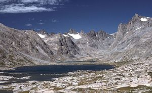 Mountains in the Wind River Range, Wyoming Gre...