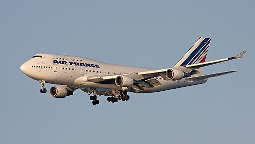 Air France 747 F-GITF