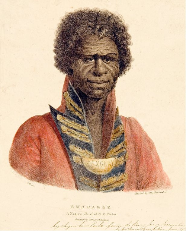 Augustus Earle - Bungaree A Native Chief of N.S. Wales - Google Art Project