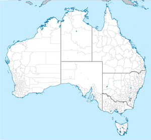 English: Map of Australian local government ar...