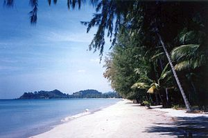 English: Klong Phrao Beach, Island of Koh Chan...