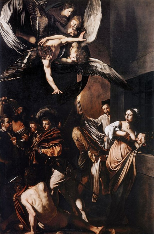 """""""The Seven Works of Mercy"""" by Caravaggio"""