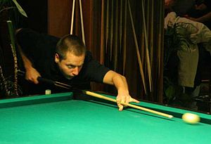 Pool Player Marcus Chamat