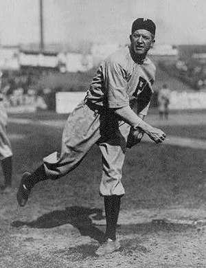 English: Grover Cleveland Alexander of the Phi...