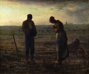 The Angelus (1857-1859) by Jean-François Millet.